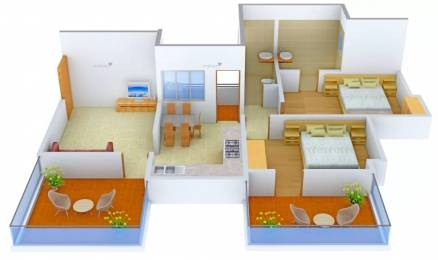 1078 sqft, 2 bhk Apartment in The New Alliance Group Aero Homes Sus, Pune at Rs. 13000