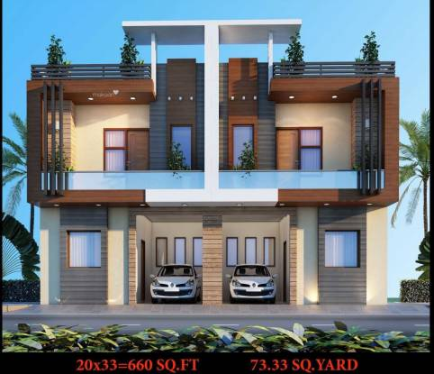 1610 sqft, 3 bhk IndependentHouse in Builder sunrise villa and apartment Crossing Republik, Ghaziabad at Rs. 45.9000 Lacs