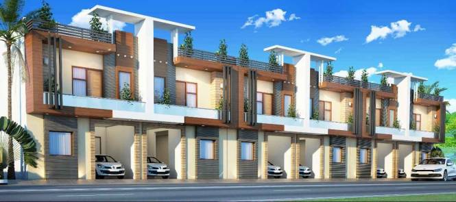 1605 sqft, 3 bhk Villa in Builder sunrise villa and apartment Crossing Republik, Ghaziabad at Rs. 46.4100 Lacs