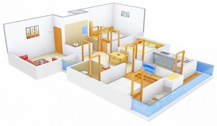 1000 sqft, 3 bhk Apartment in Regal Treasure Ayodhya Nagar, Bhopal at Rs. 38.0000 Lacs