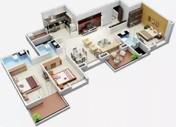 1600 sqft, 3 bhk Apartment in BramhaCorp Suncity Wadgaon Sheri, Pune at Rs. 1.2300 Cr