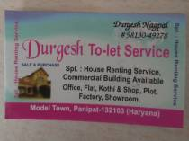 durgesh property/ to let service