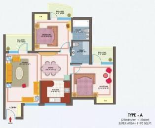 1195 sqft, 2 bhk Apartment in VXL Eastern Gates Sector 4 Vasundhara, Ghaziabad at Rs. 11000