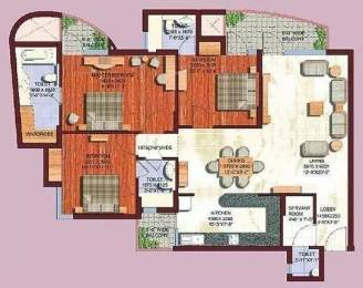 1935 sqft, 3 bhk Apartment in ABA Olive County Sector 5 Vasundhara, Ghaziabad at Rs. 21000