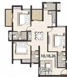 1254 sqft, 3 bhk Apartment in Jain Adwitiya Ambattur, Chennai at Rs. 20000