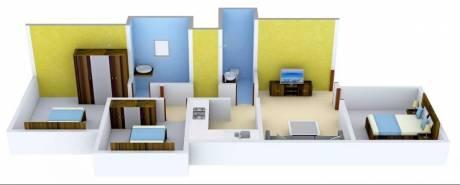 1120 sqft, 3 bhk Apartment in Tharwani Ariana Ambernath West, Mumbai at Rs. 8500