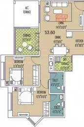 750 sqft, 2 bhk Apartment in Mittal Sun Exotica Phase 1 Kondhwa, Pune at Rs. 12000