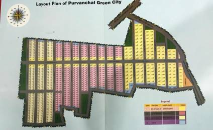 800 sqft, Plot in Builder Purvanchal green city gossaiganj sultanpur road, Lucknow at Rs. 3.6080 Lacs