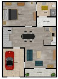 1000 sqft, 3 bhk IndependentHouse in Builder Imperium Estates Sun City Vistaar, Bareilly at Rs. 50.0000 Lacs