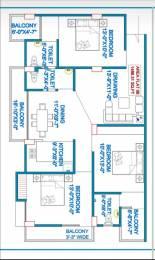 1486 sqft, 3 bhk Apartment in Builder Ram Brahma Enclave Bairiya, Patna at Rs. 48.0000 Lacs