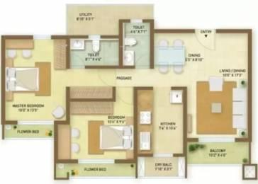 1172 sqft, 2 bhk Apartment in Indiabulls Greens Panvel, Mumbai at Rs. 69.1500 Lacs