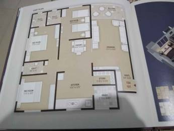 1980 sqft, 3 bhk Apartment in Builder Project Nikol, Ahmedabad at Rs. 62.0000 Lacs