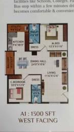 1300 sqft, 2 bhk Apartment in Builder lohitha residency Pragathi Nagar, Hyderabad at Rs. 60.0000 Lacs