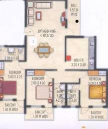 1629 sqft, 3 bhk Apartment in Devashri Gopika Vihar Panjim, Goa at Rs. 25000