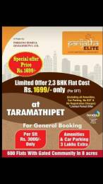 1200 sqft, 2 bhk Apartment in Builder Parijatha Homes Pride Ghatkesar Hyderabad Ghatkesar, Hyderabad at Rs. 20.4000 Lacs