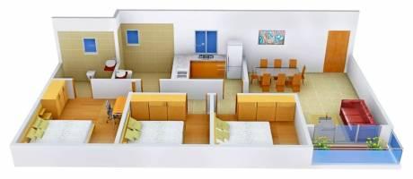 1460 sqft, 3 bhk Apartment in Ideal Grand Howrah, Kolkata at Rs. 33000