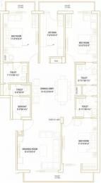 2250 sqft, 3 bhk Apartment in Sushma Valencia Nagla, Zirakpur at Rs. 75.0000 Lacs