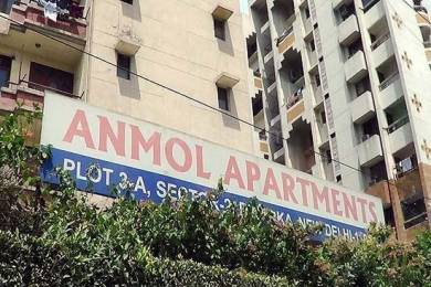 2000 sqft, 4 bhk Apartment in Reputed Anmol Apartment Dwarka Sector 2 Dwarka, Delhi at Rs. 1.8000 Cr