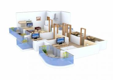 1565 sqft, 2 bhk Apartment in AIPL The Peaceful Homes Sector 70A, Gurgaon at Rs. 1.1500 Cr