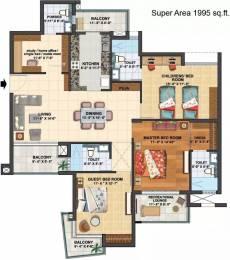 1995 sqft, 3 bhk Apartment in Assotech The Cosmopolis Arya Village, Bhubaneswar at Rs. 1.4763 Cr