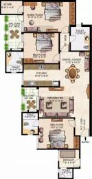 1933 sqft, 3 bhk Apartment in Gurukripa Indraprastha Grand Vrindavan Yojna, Lucknow at Rs. 25000