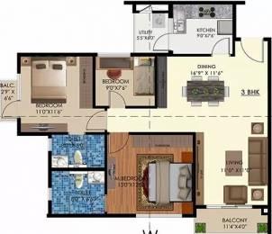 1322 sqft, 2 bhk Apartment in Arge Urban Bloom Yeshwantpur, Bangalore at Rs. 37000