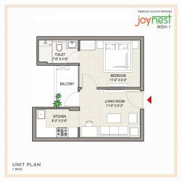 625 sqft, 1 bhk Apartment in Builder sushma joynest mohali Aerocity Road, Mohali at Rs. 26.9000 Lacs