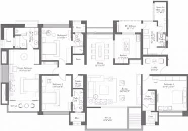 4000 sqft, 4 bhk Apartment in ABIL Castel Royale Grande Bopodi, Pune at Rs. 7.5000 Cr