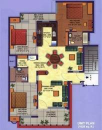1628 sqft, 3 bhk Apartment in Divine Heritage Divine Gyan Khand, Ghaziabad at Rs. 90.0000 Lacs