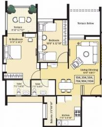1050 sqft, 2 bhk Apartment in Alcon Renaissant Kharadi, Pune at Rs. 65.0000 Lacs