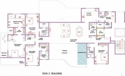 4675 sqft, 4 bhk Apartment in Marvel Diva 2 Hadapsar, Pune at Rs. 3.0000 Cr