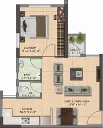 605 sqft, 1 bhk Apartment in Builder Project Santragachi howrah, Kolkata at Rs. 22.0000 Lacs
