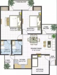 1365 sqft, 3 bhk Apartment in Panchsheel Pebbles Sector 3 Vaishali, Ghaziabad at Rs. 87.5100 Lacs