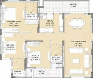 1785 sqft, 3 bhk Apartment in Vatika Gurgaon 21 Sector 83, Gurgaon at Rs. 25000