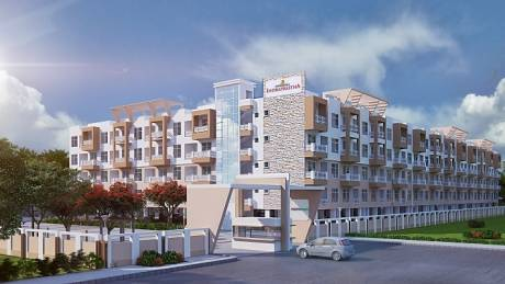 401 sqft, 1 bhk Apartment in Builder Sowparnika Indraprastha Hoskote, Bangalore at Rs. 15.6350 Lacs