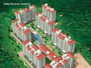 1272 sqft, 2 bhk Apartment in Godrej Woodsman Estate Hebbal, Bangalore at Rs. 36000