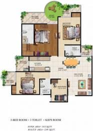 1815 sqft, 3 bhk Apartment in Ajnara Grand Heritage Sector 74, Noida at Rs. 19000