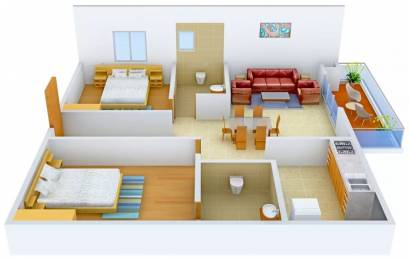 1355 sqft, 2 bhk Apartment in Prestige Ivy League Hitech City, Hyderabad at Rs. 40000
