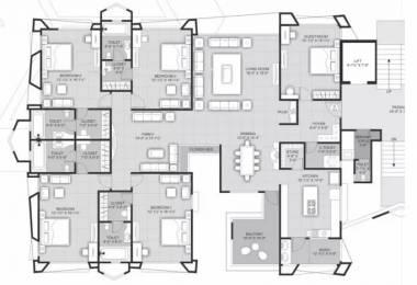 4711 sqft, 5 bhk Apartment in Rameshwaram Sapphire Court Vesu, Surat at Rs. 2.3000 Cr