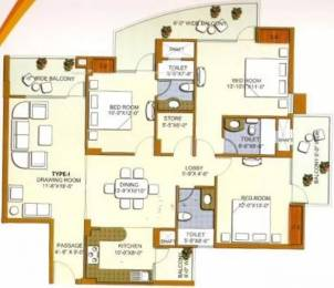 1915 sqft, 3 bhk Apartment in Civitech Florencia Sector 9 Vaishali, Ghaziabad at Rs. 1.2000 Cr