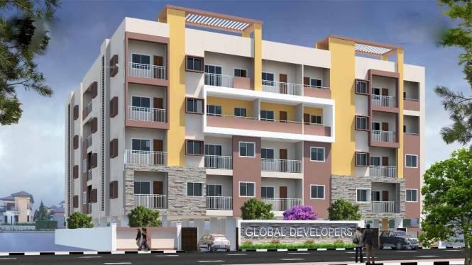 1095 sqft, 2 bhk Apartment in Builder Swasthik Global Naveen Poorna Pragna Layout, Bangalore at Rs. 52.5600 Lacs