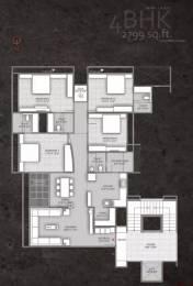 2799 sqft, 4 bhk Apartment in Setu Copper Stone Thaltej, Ahmedabad at Rs. 1.8200 Cr