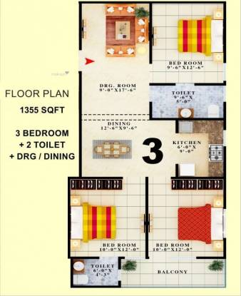 1355 sqft, 3 bhk BuilderFloor in Builder Project Shahberi, Greater Noida at Rs. 30.0000 Lacs