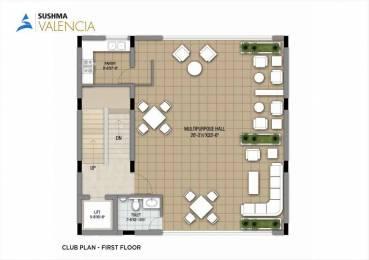 1800 sqft, 3 bhk Apartment in Sushma Valencia Nagla, Zirakpur at Rs. 75.0000 Lacs