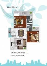 780 sqft, 2 bhk Apartment in Builder shrivinayak awas yojna L Zone Delhi, Delhi at Rs. 29.6400 Lacs