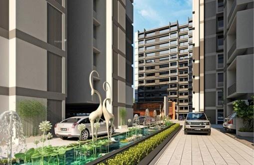 1170 sqft, 2 bhk Apartment in Aaryan Gloria Bopal, Ahmedabad at Rs. 47.0000 Lacs