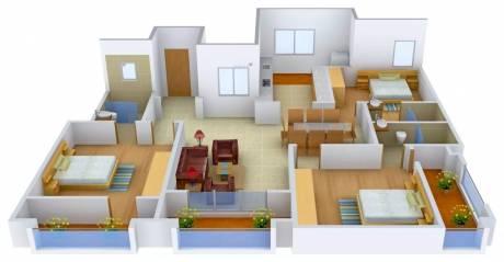 2088 sqft, 3 bhk Apartment in Ashed Regency La Majada Hennur, Bangalore at Rs. 1.5500 Cr