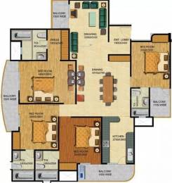 1850 sqft, 4 bhk Apartment in Shubhkamna Apartments Sector 50, Noida at Rs. 26000