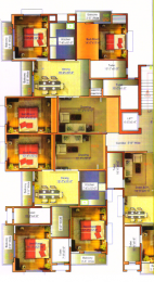 1332 sqft, 3 bhk Apartment in Builder Lake View Mansion Bariatu, Ranchi at Rs. 42.4600 Lacs