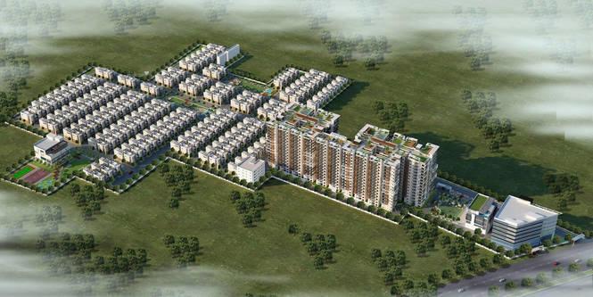 2215 sqft, 4 bhk Apartment in Sahiti Sudheshna Alpine Heights Kaza, Guntur at Rs. 99.6700 Lacs